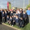 6th class and bishop outside