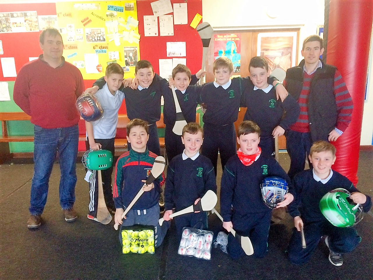 hurling gear presented
