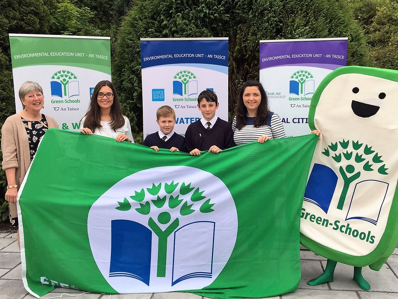 green schools flag award 2017