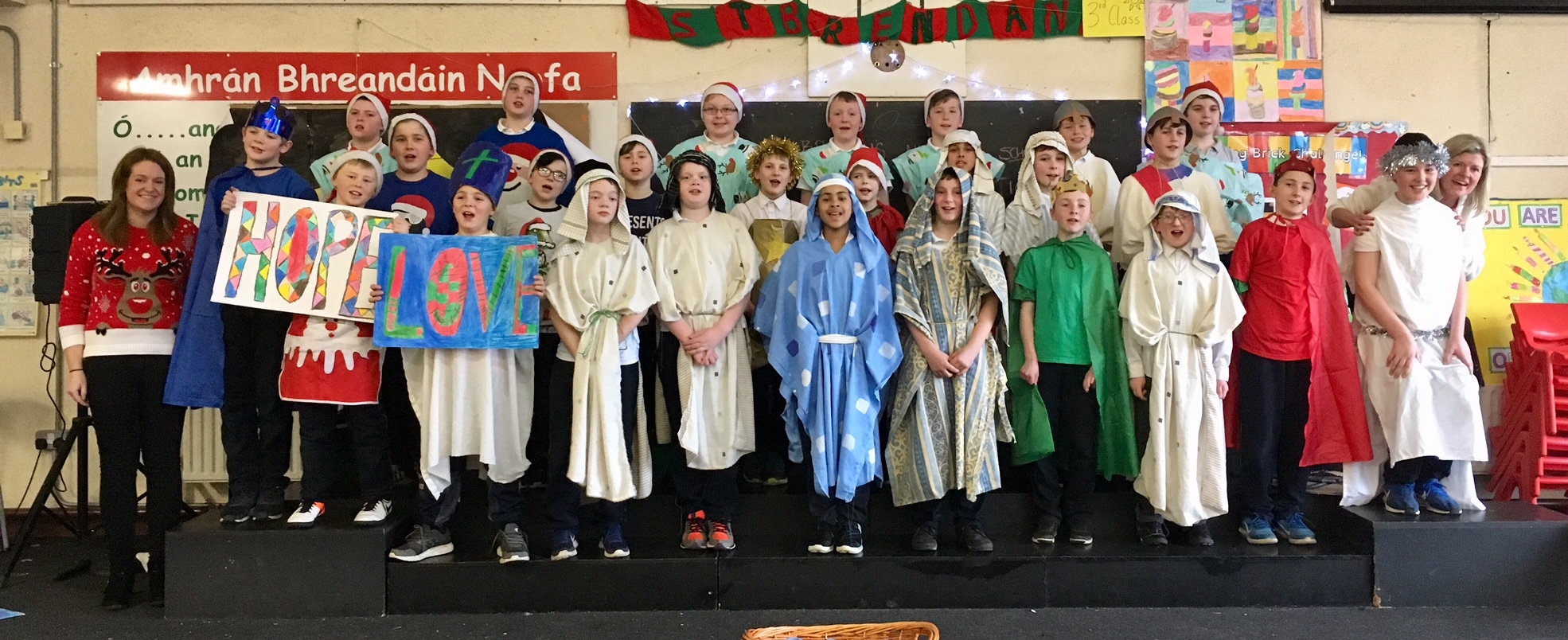 5th class nativity